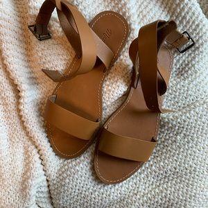 Madewell NEVER WORN(!!!) sandals!
